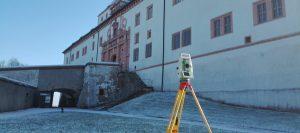 Lage- und Höhenplan Schloss Augustusburg