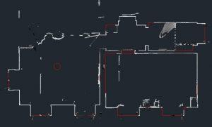 Laserscanner - Erstellung Gebäudegrundriss